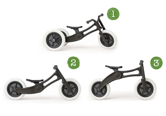 wishbone bike trike recycled edition 3 in 1